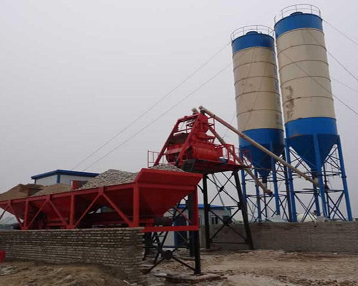 HZS35型混凝土��拌站
